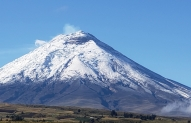 Cotopaxi 5897m from the  base