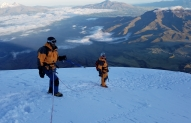 Cotopaxi on the way down
